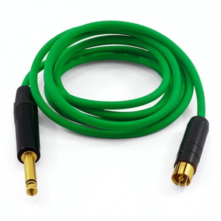 Clip Cord RCA Retráctil Five Moths - Verde -