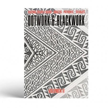 Libro Dotwork & Blackwork Vol. 2 - Dibujos y Pinturas - Bocetos - Patrones - Tatuajes