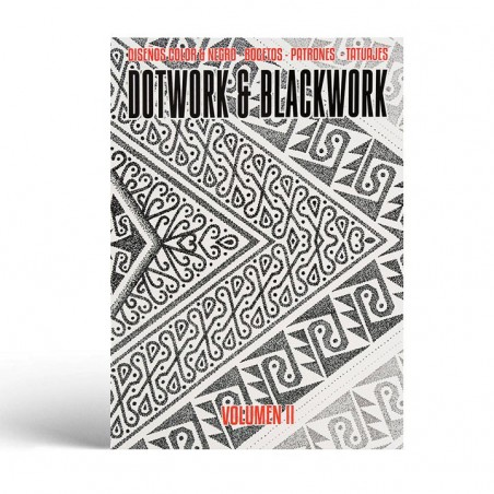 Dotwork & Blackwork Vol. 2 - Drawings & Paintings - Sketches - Patterns - Tattoos