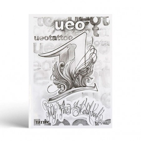 UEO - Mi primer sketchbook - Libro de escrituras, letras -