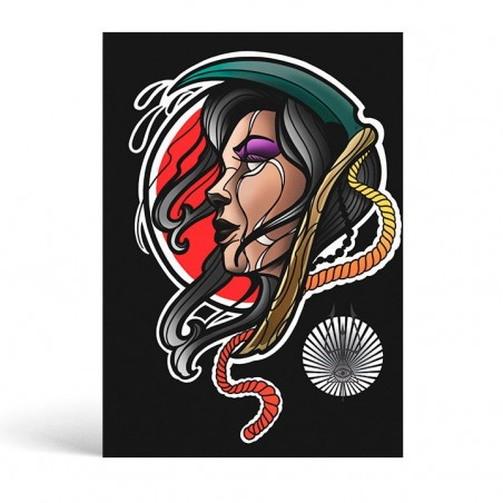 Scythe Girl Sheet - Ivanuko Tattoo -