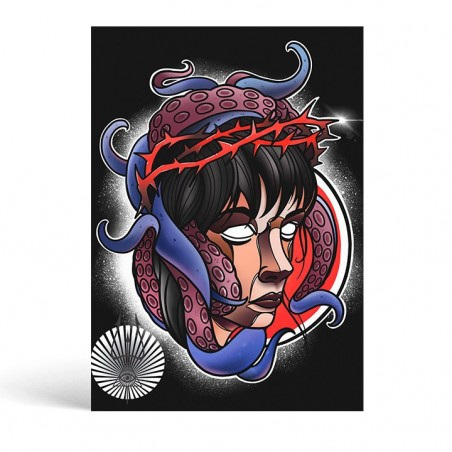 Tentacle Girl Sheet - Ivanuko Tattoo -