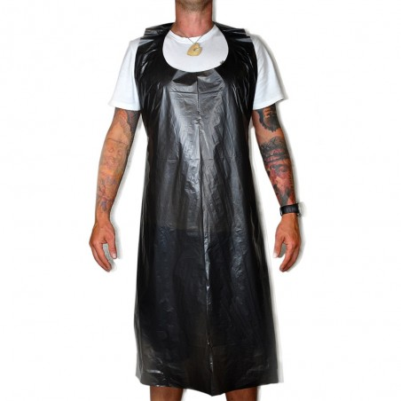 Delantal Impermeable Desechable Negro