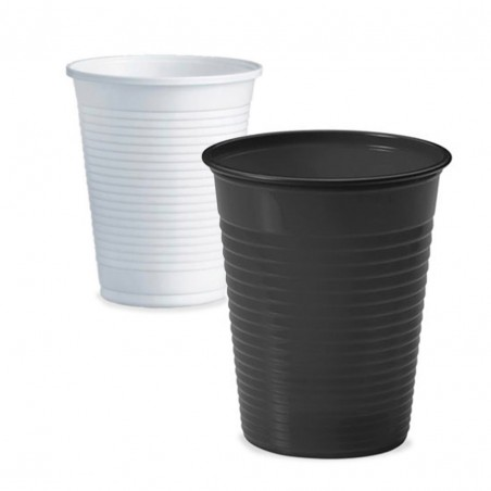 Plastic Cups - White -