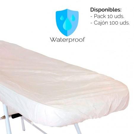 Pack 10 pcs. Adjustable laminated sheet - White -