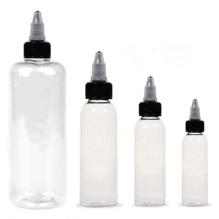 Botella Transparente para Tinta